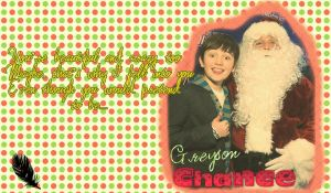 Greyson Chance Wallpaper Christmas by SuperstarElevate