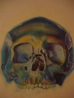 Pastel Skull by Casey-Jane