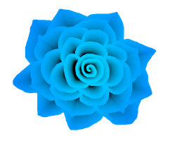 Turquoise Rose STOCK by venicet