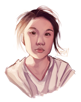 Self Portrait by KatharineArt
