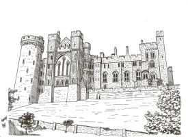 Arundel Castle by megalobo