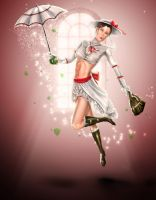 M. Poppins: Spoonfull of Sugar by steevinlove