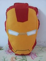 Handmade The Avengers Iron Man Mask Plush Pillow by RbitencourtUSA