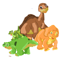 land before time by evildollie