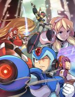 Megaman X Artbook by Kaminekowo