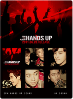 2PM HANDS UP ICONS by 5o5ha