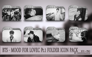 BTS- THE MOOD FOR LOVE Pt.1 Folder Icon Pack by SNSDraimakim