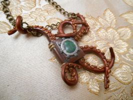 Steampunk 20,000 Leagues Under the Sea Pendant by pitin