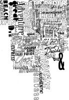typography fun. by triscuitbox