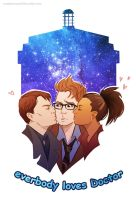 Doctor Who - Everybody loves Doctor by maXKennedy