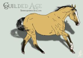 Guilded Age- adult ref by SunnyBlueDay