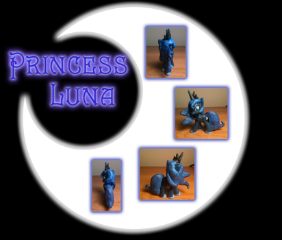 Princess Luna Custom Blind Bag by DreadArkive