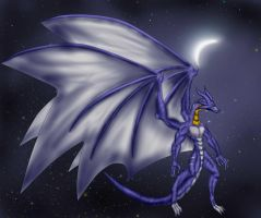 The Darkness Tales Species - Crescent moon Dragon by ArkaDark