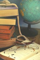 The World in Yellowing Pages by wickedjelly