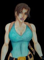 Lady Lara Croft for 2012 Senior showcase by Medusa1893