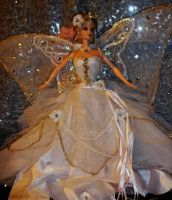 Queen Titania of the Fairies Barbie by dakotassong