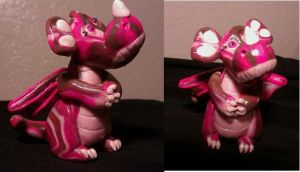 Pink dragon by chasmatic