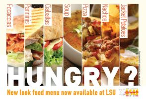 food court flyer by Druantia-design