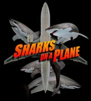 Sharks on a Plane by Agent-Spiff