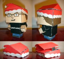 Cubee Santa Hat Example by theredone1986
