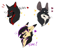 GIFT: small headshots by Sabi-Arts