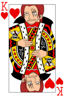 Shanks - King of Hearts by aksarah