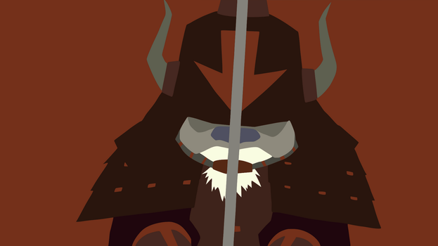 Appa Minimalist Wallpaper by DamionMauville
