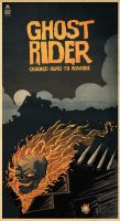 ghost rider by motsart
