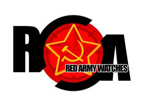 Red Army Watches Logo by diagnosavisual