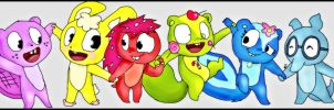 Happy Tree Friends by AileCc