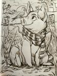 Inktober 7 by sharkie19