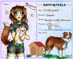 Happy-Tails: Brownie app. by KuroHana-dono