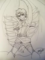 Levi Freedom Wings by Grim-Heaper