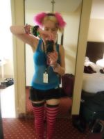 Shutocon 2015 rave outfit by therealdeathnote