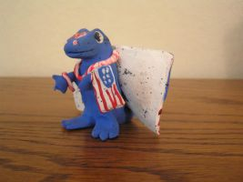 Clay Dragon 1- Fourth of July by oblivion-of-sanity