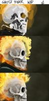 Ghost Rider WIP by AndyFairhurst