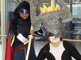 Lucina and Midna - Montreal Mini Comic Con 2015 by J25TheArcKing