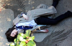 Supernatural Castiel Cosplay: Fallen Angel by JACKLESfromHell
