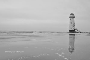Point of Ayr Lighthouse II by grifasp