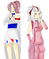PT- Takla and Shiki Clothes Swap by Foxiani