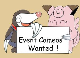 PMDE cameos Wanted 2 by augustelos