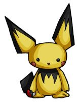 Oh No It's Pichu by silverwinglie