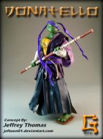 Feudal Donatello by G-Brand