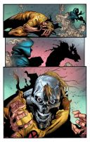 Young X-men color sample by rainerpetterart