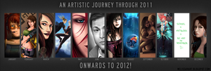 An Artistic Journey Through 2011 by dacadaca