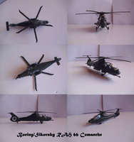 Boeing Sikorsky RAH 66 Comanche by Teratophoneus