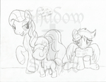 No One Accepts Pegasi Who Can't Even Fly by TheShadowStone