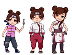 Tenten progression by jasei