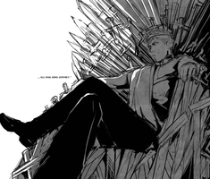 All hail king Joffrey by Poizonsss