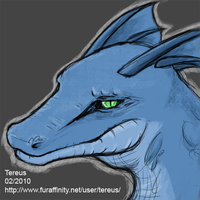 Garrus as a blue argonian by GarrusArtemis